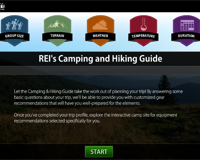 REI Camping & Hiking Guide